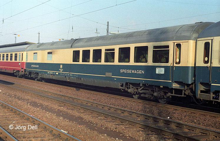 exDSG WR 11 110 in o/b, Fulda 1981 Foto: Jörg Dell +